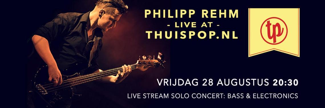 Phil's Bass Stream -live- at Thuispop 28 august
