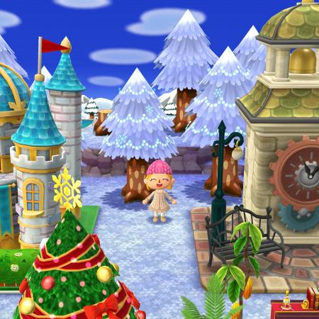 December in Animal Crossing Pocket Camp