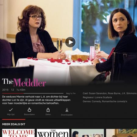 Netflix - The Meddler