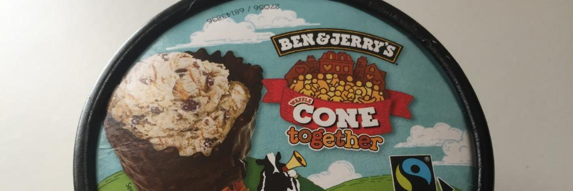 Ben & Jerry's Cone Together Minicup - Review