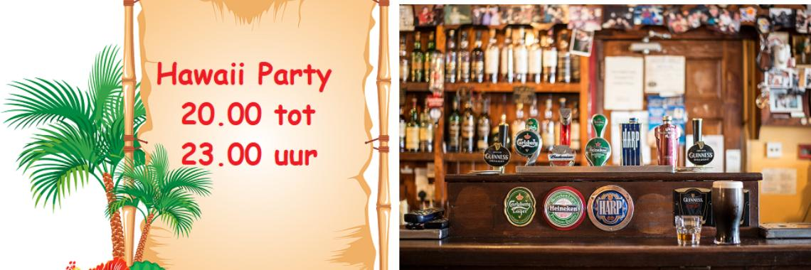 Online Yoors Café - Themafeest-Hawaii Party - 25-04-2020