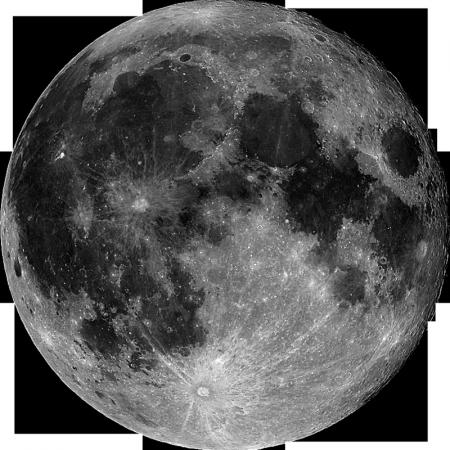 What Raaz sees in the moon: 🕉 AUM