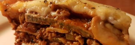 Lowcarb lasagne recept spinazie #demankookt