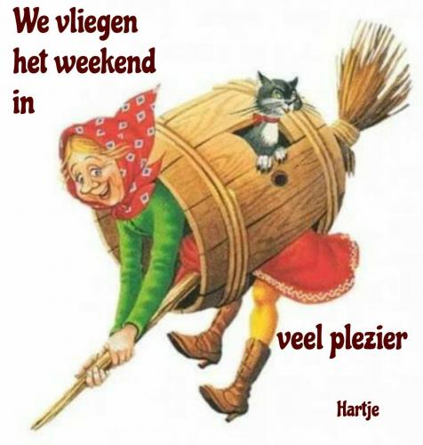 Nog even en het is weekend