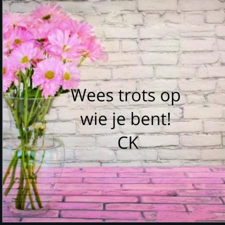 Wees trots