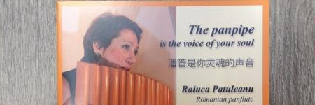 New CD ' The panpipe is the voice of your soul' Raluca Patuleanu