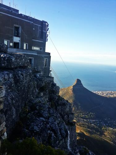 On top of Table Mountain