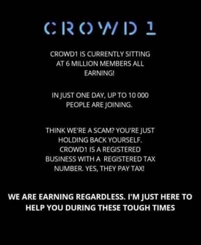 Crowd1: Scam or not?