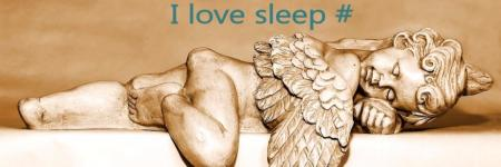 I ♥ sleep tag