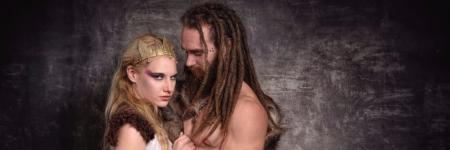 Behind the scenes Viking shoot