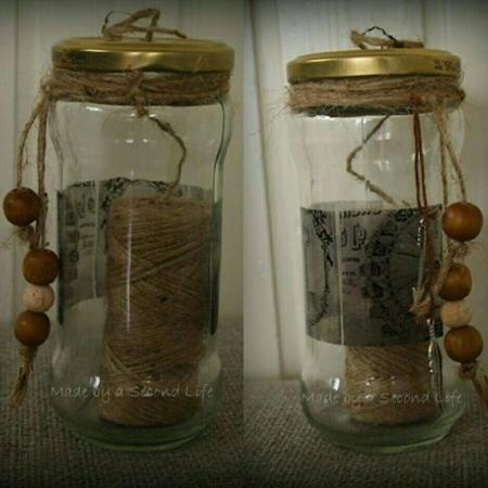 garen houder/maison jar yarn holder