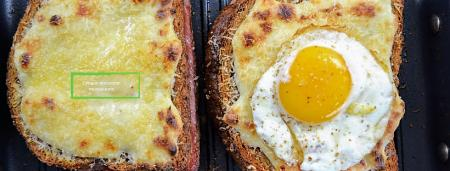 croque madame en monsieur