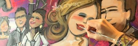 Live painting op je feest?
