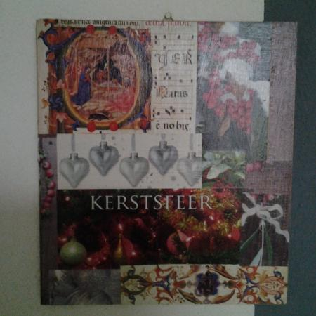 Kerstsfeer collage