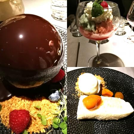 Luxe desserts