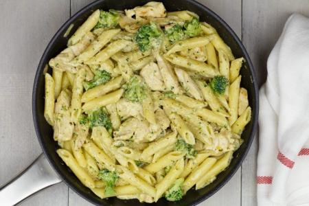 Pasta met Broccoli en Roomsaus