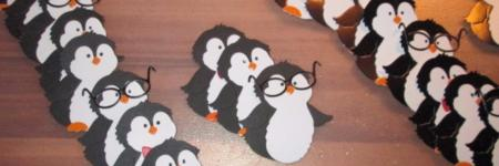 120 pinguins !!!