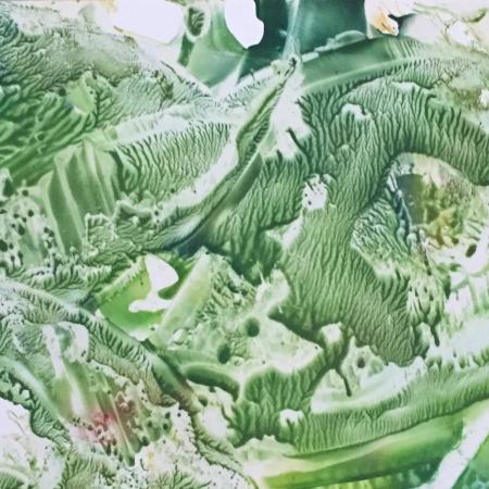 Encaustic Art (Groen)