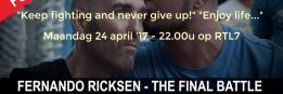 Keep fighting and never give up!    Enjoy life... 
