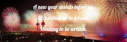 A new year stands before us,