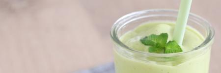 Recept: Smoothie met avocado en munt