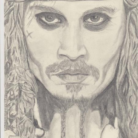 jack sparrow (johnny depp)