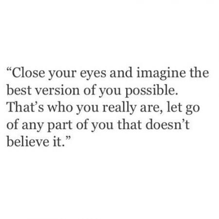 Close your eyes..