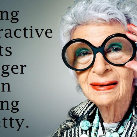 quote: be attractive!