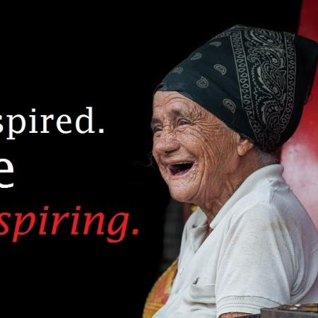quote: be inspired