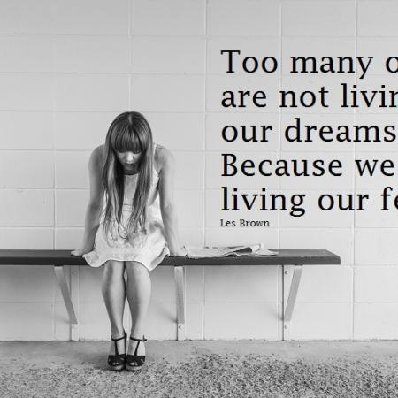 quote: too many of us are not living our dream