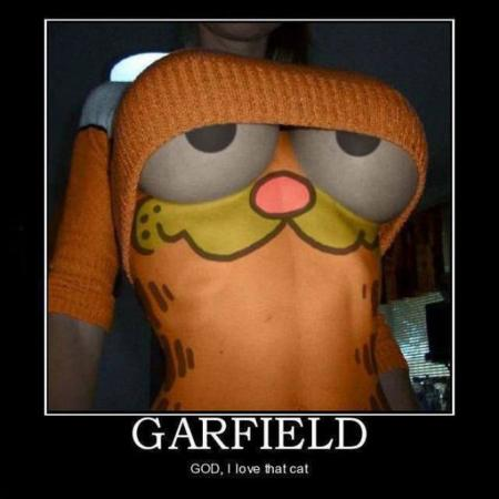 18+ fun garfield