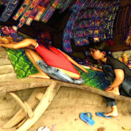 Photo Art | Girls at the warung