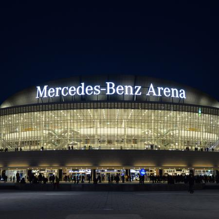 Mercedez benz arena