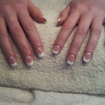 French manicure Nails!