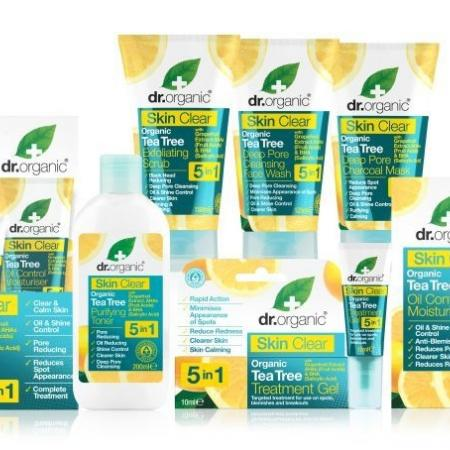 Review Dr Organic skin clear