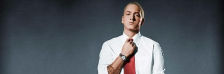 --Eminem goes back to high school--