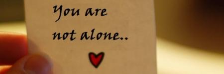 Eerste Blog; You are not alone