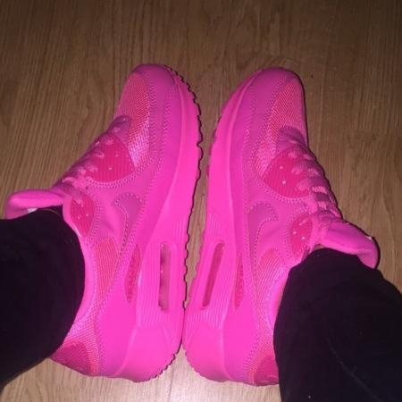 My pink shoes