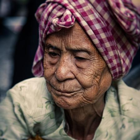 Old Woman from Cambodia