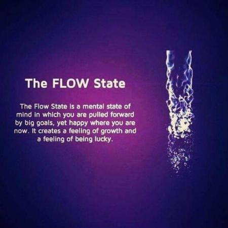 Anyone else feeling in the flow state?
