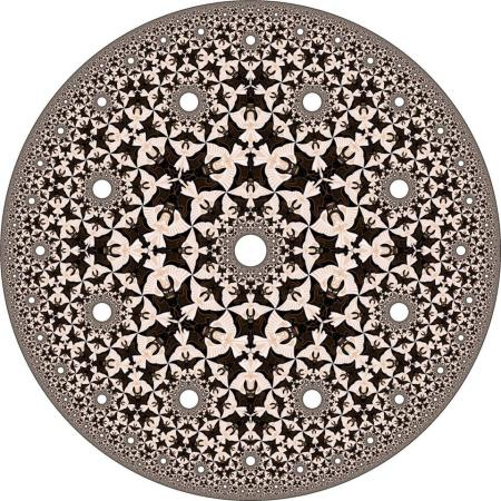 ~ M.C Escher - Circle Limit IV ~