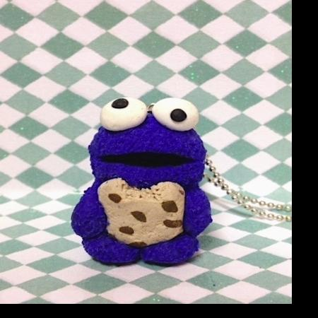 Koekie monster ketting