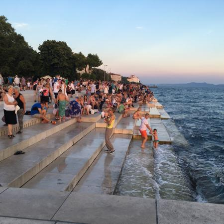Sea Organ, Kroatië