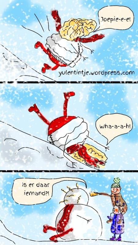 Winterpret cartoon