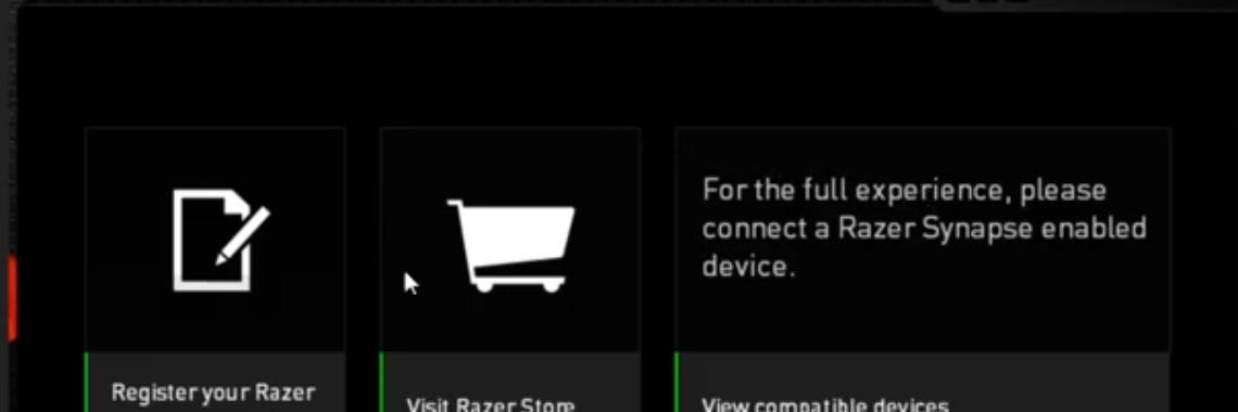 How to fix Razer synapse not detecting hardware error