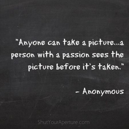 Anyone can take a picture...