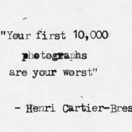 Your first 10.000 photographs