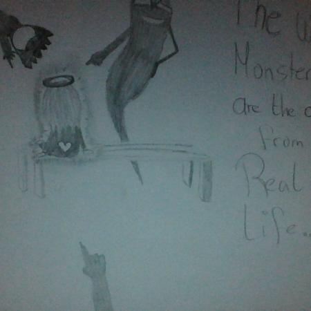 Drawing: The worst monsters