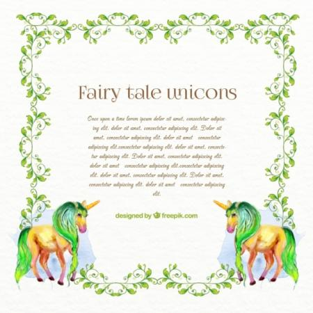Fairy tale unicorns