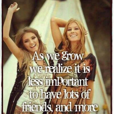Quote real friends